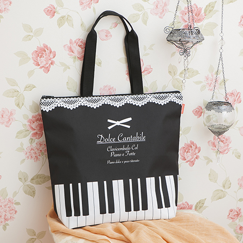 【完売】Piano line たっぷりトート