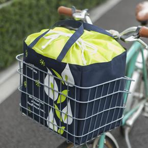 【完売】ブルーミングライフ 自転車カゴにぴったりエコバッグ