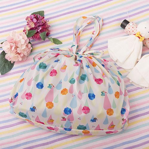 【完売】雨の日対策 コンパクトレインバッグ