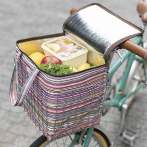 【完売】ミル・クラルテ 自転車かごにぴったり保冷バッグ