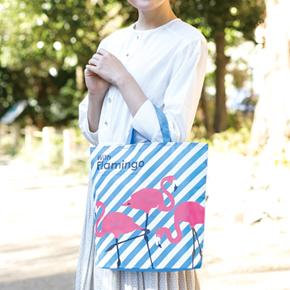 【完売】ウィズフラミンゴ ポケットエコバッグ