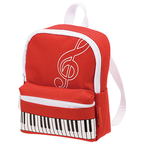 ピアノライン ミニリュック型ポーチ