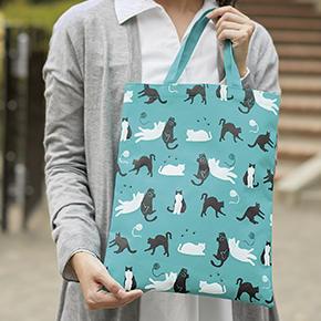 【完売】猫日和 トートバッグ