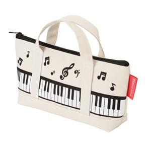 Piano line トートバッグなペンケース(マーチ)