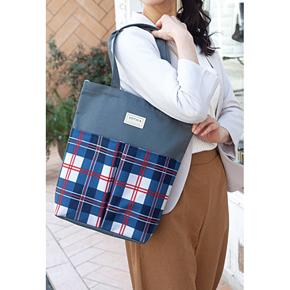ソフィア 縦型ダブルポケットバッグ