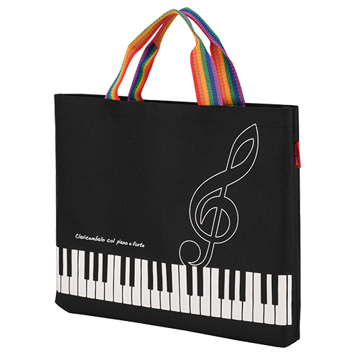 Piano line レッスンバッグ(レインボー)
