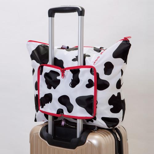 スーツケースの持ち手に装着可能