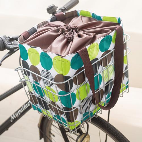 ソポラ 自転車カゴにぴったり保冷エコバッグ