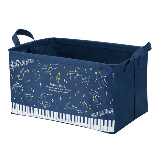 Piano line ワイヤー入り収納ボックス 大(星座)