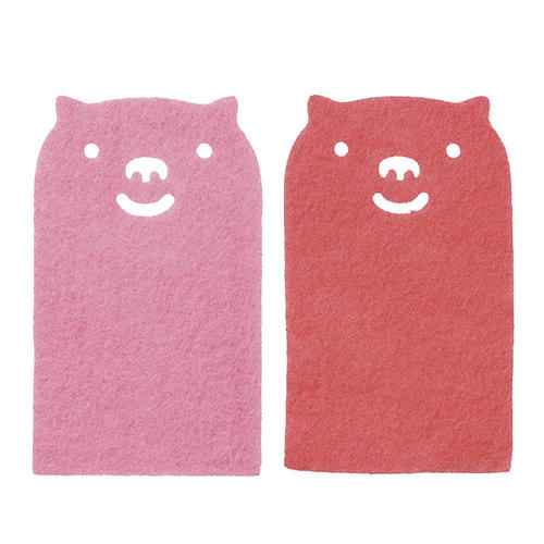ピンク&赤