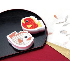 紅白めで鯛 キッチンスポンジ