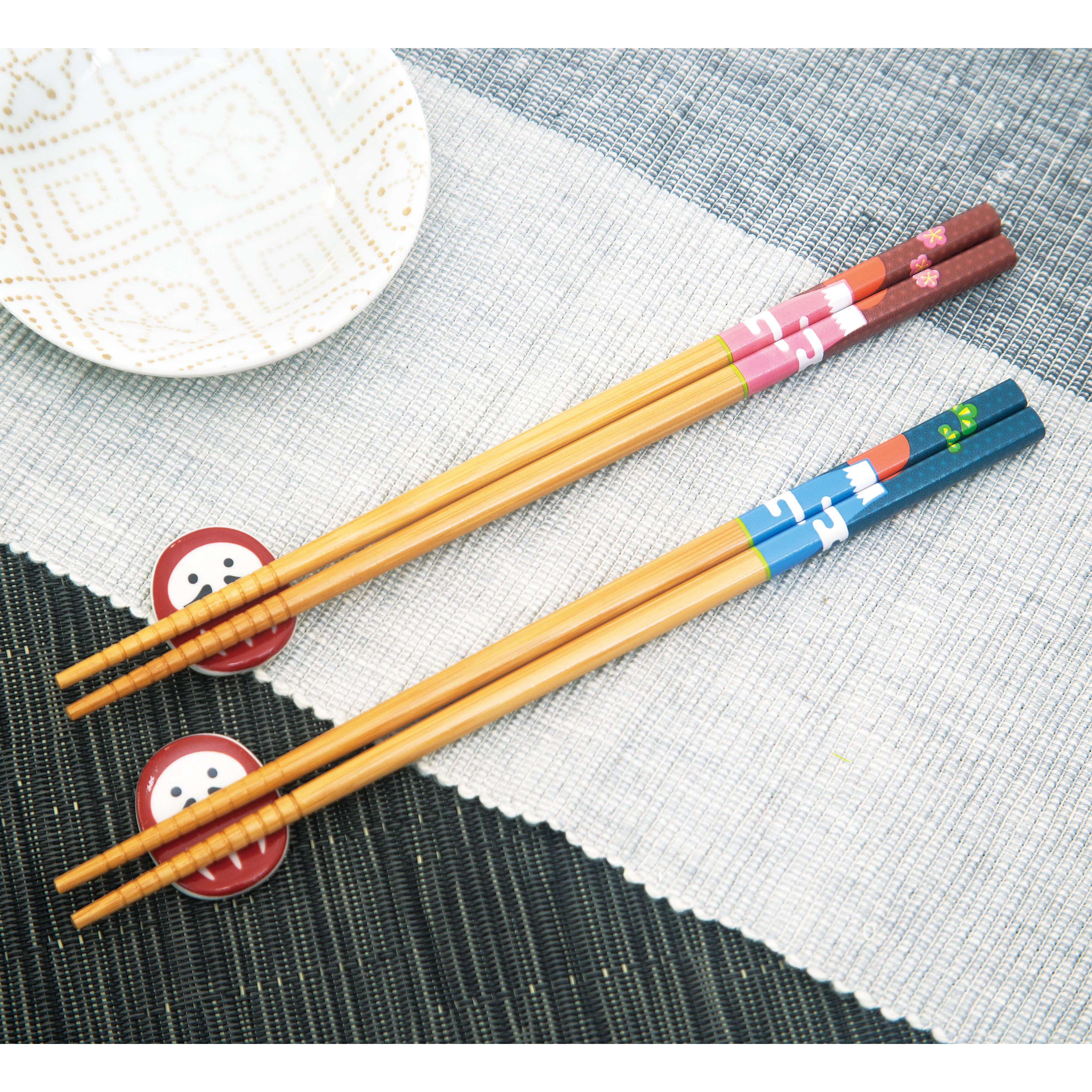 縁起箸富士 2膳セット