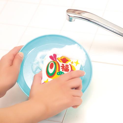 しっかり使えるキッチンスポンジ