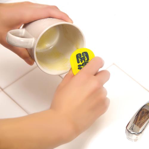 メラミンスポンジは茶シブ落としに