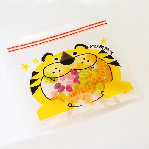 トラくん ジッパーバッグ(8枚入り)