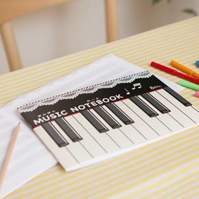 【完売】Piano line 五線譜ノート