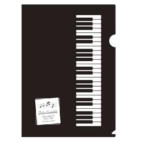 【完売】Piano line A4クリアファイル(ベーシック)