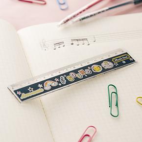 Music line 15cm定規