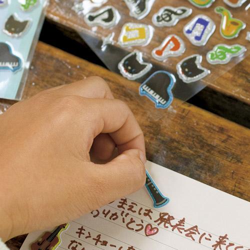 ノートや手紙に可愛く貼っちゃおう