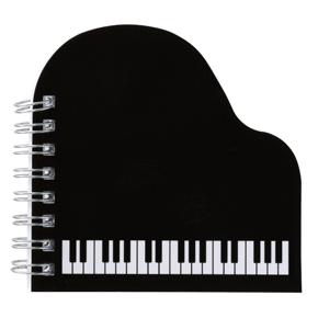 Piano line リングメモ帳(グランドピアノ)