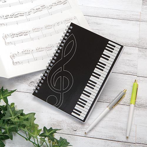 ピアノライン リングノート B6(鍵盤)