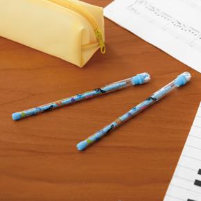 Piano line ロケット式鉛筆(消しゴム付き)ブルー