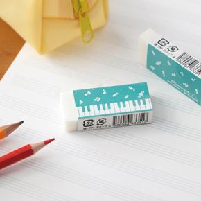 Piano line 消しゴム(音符)グリーン