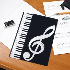 Piano line B5下敷き(ト音記号)