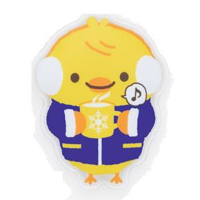 ピアノライン 防寒アニマル エコなカイロ(ひよこ)