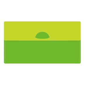 カラモ マスクケース(マスク1枚付き) ライトグリーン