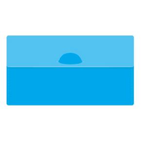 カラモ マスクケース(マスク1枚付き) ライトブルー