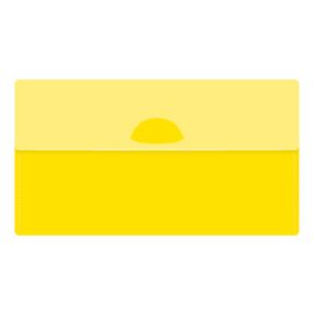 カラモ マスクケース(マスク1枚付き) イエロー