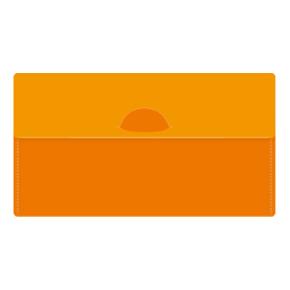 カラモ マスクケース(マスク1枚付き) オレンジ