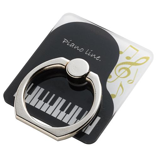 Piano line スマホリング(グランドピアノ)
