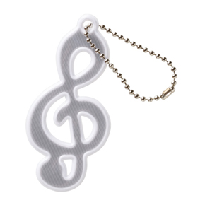 Music line リフレクター(ト音記号)ホワイト