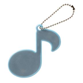 Music line リフレクター(音符)ライトブルー