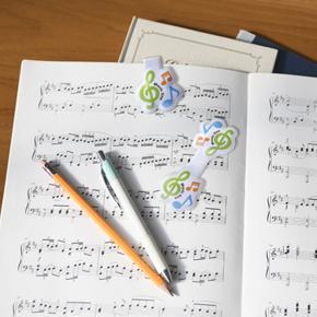 Music line マグネットクリップ(ト音記号)