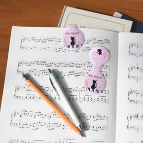 Piano line マグネットクリップ(ねこ)