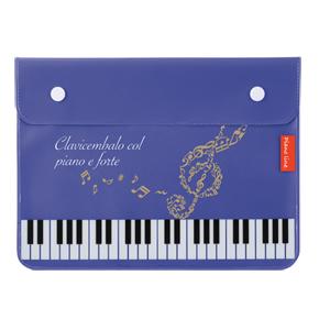 Piano line フラットポーチA5(ハミング)