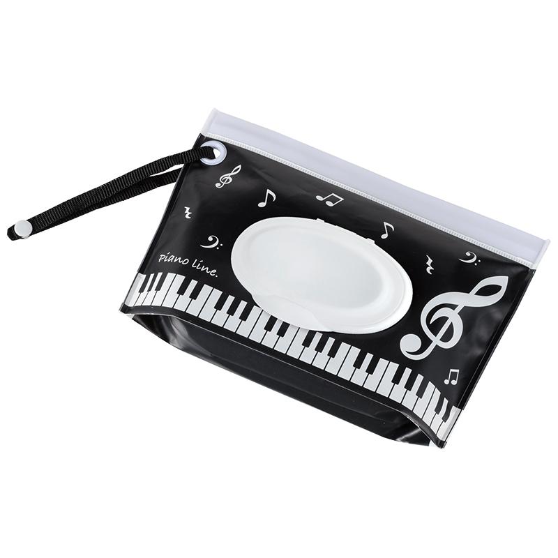 Piano line ウェットティッシュケース(音符)
