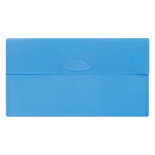 カラモ 抗菌マスクケース(マスク1枚付き)ライトブルー