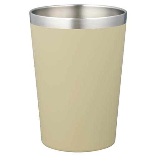 カラモ コンビニカップ対応 真空タンブラー 450ml アイボリー
