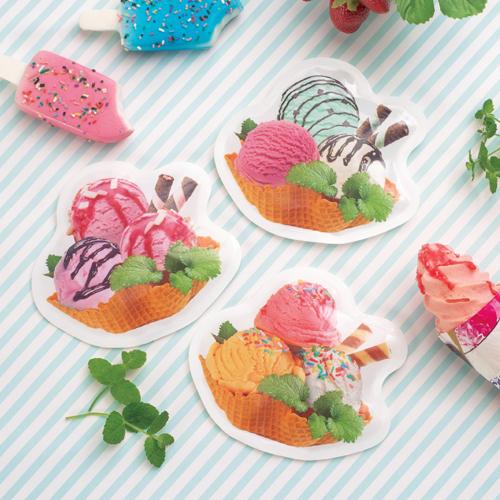 ハッピーなアイスクリーム保冷剤