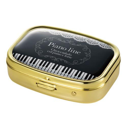 Piano line ミラー付きアクセサリーケース(レース)
