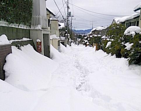 力匠部屋~「最寄駅を降りると雪国であった」