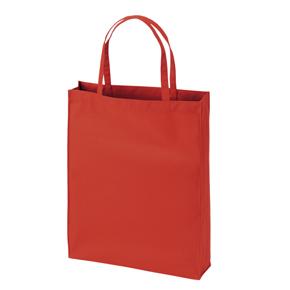 【カラモ】展示会用バッグ・厚手マチあり レッド