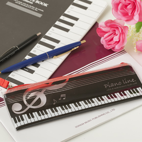 Piano line クリアペンケース