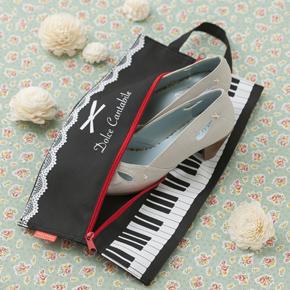 【ピアノライン】シューズバッグ