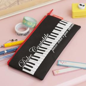 【ピアノライン】シンプルペンケース
