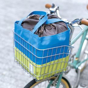 <b>【完売】</b>トーン自転車カゴにぴったりエコバッグ
